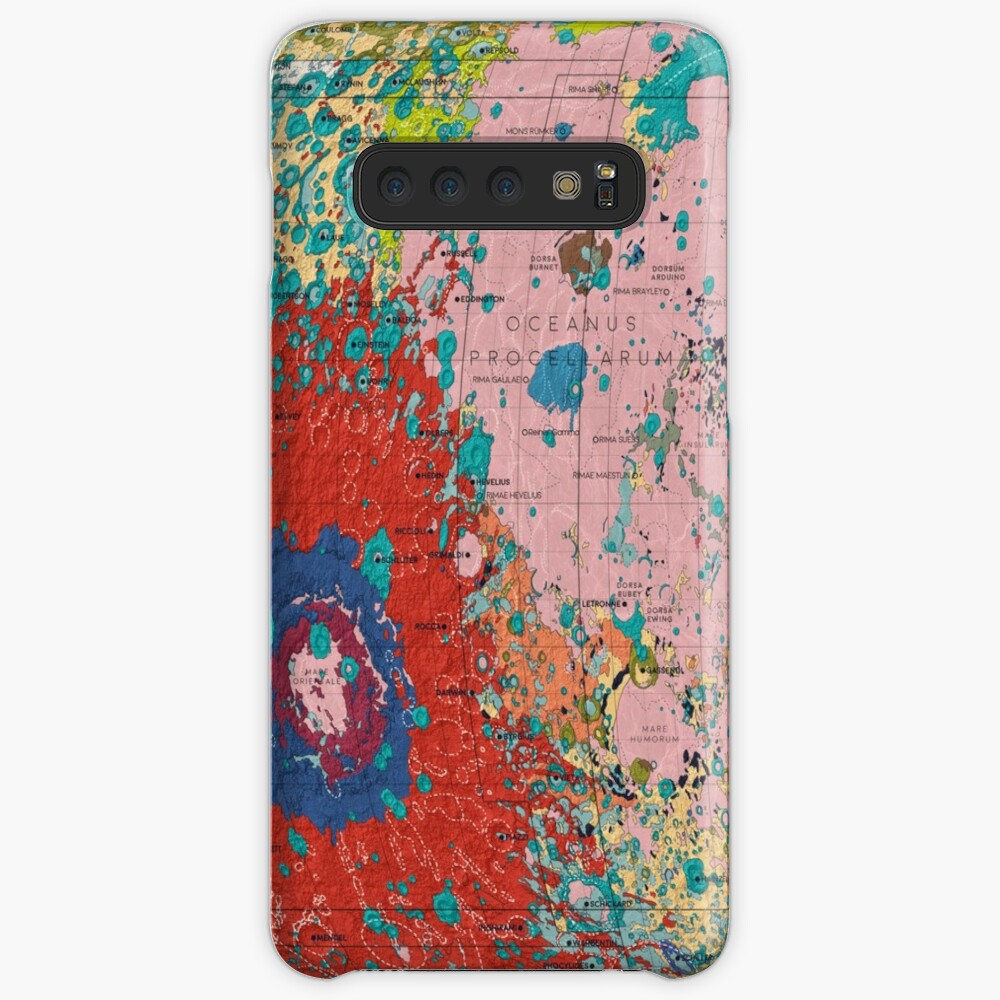 The Geology of the Moon Case & Skin for Samsung Galaxy