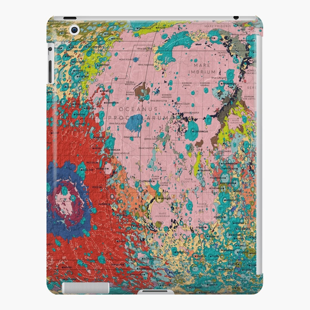The Geology of the Moon iPad Case & Skin