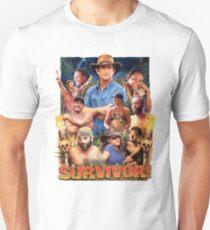 Überlebendes episches Plakat Slim Fit T-Shirt