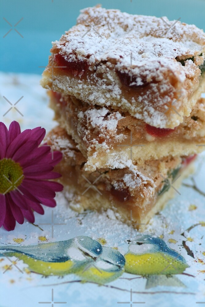 Cherry Almond Slice by Joy Watson