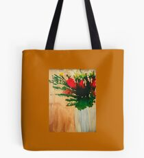 """""""Flowers in a Vase"""" Original by Tony DuPuis Tote Bag"""