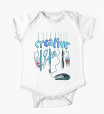 Connected Creative in Blue Kids Clothes