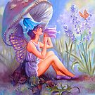 BLUE BELL FAIRY by Judy Mastrangelo