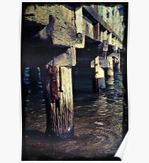 Jetty Poles Poster