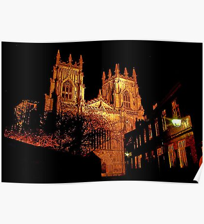 York Minster by Light Poster