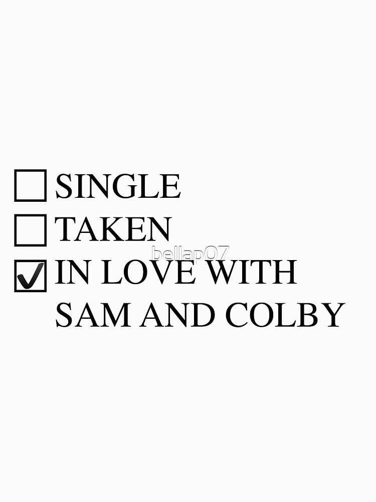 Sam and Colby by bellap07
