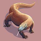 Komodo Dragon by Tami Wicinas