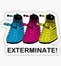 Doctor Who - Exterminate! Sticker