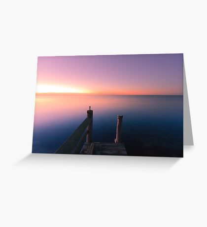 Edge of Nowhere Greeting Card