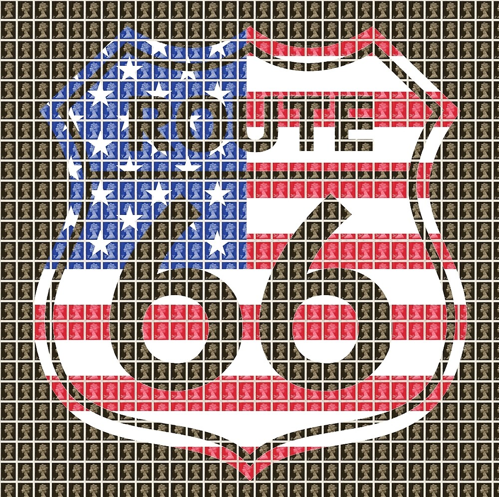 Route 66 by Gary Hogben