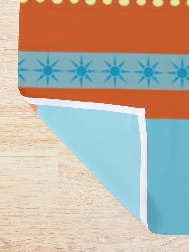 Alternate view of Bohemian  Sherbet Shower Curtain