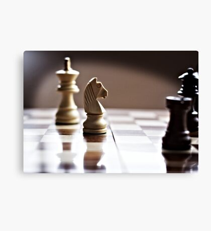 Chess time Canvas Print