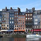 View on Honfleur harbour in Normandie  by 29Breizh33