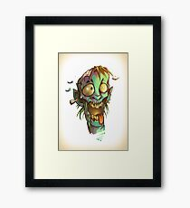 The crazy one - Zombie Punk! Collection Framed Print