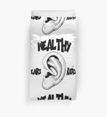 Wealthy Ears Radio T-Shirt Duvet Cover