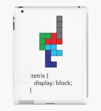 Tetris - Geek Chic iPad Case/Skin