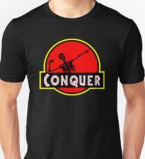 Conquer Arnold Jurassic Predator Gym T-Shirt