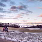 Rural Barn Landscape by utilityimage