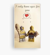 I only have eyes for you Canvas Print
