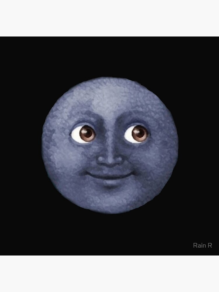 moon emoji  by LORRAUN