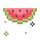 8bit Watermelon by Kostas Sintakis