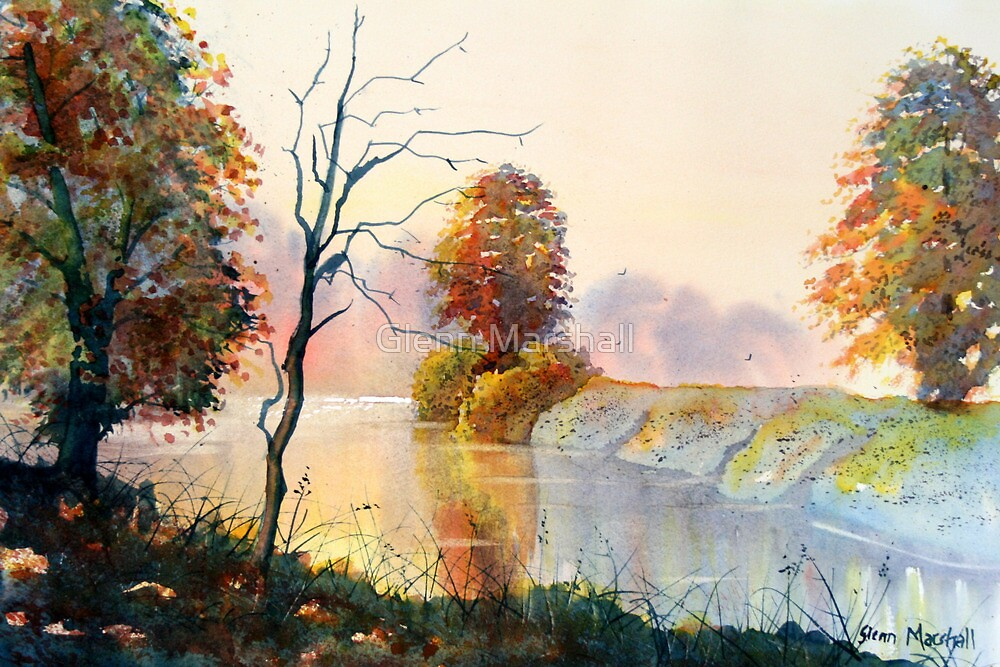 Autumn on the Ouse by Glenn Marshall