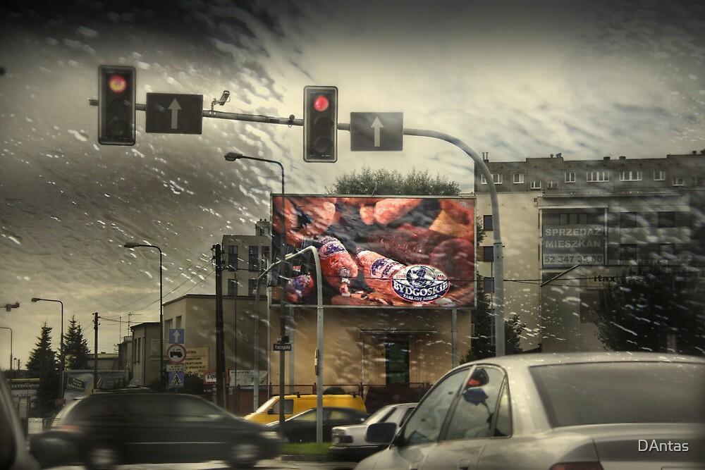 City Life - Crossroads Mystic by Danuta Antas