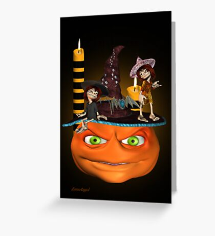 Halloween Madness Greeting Card