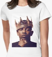 """Kendrick Lamar - """"The king"""" Women's Fitted T-Shirt"""