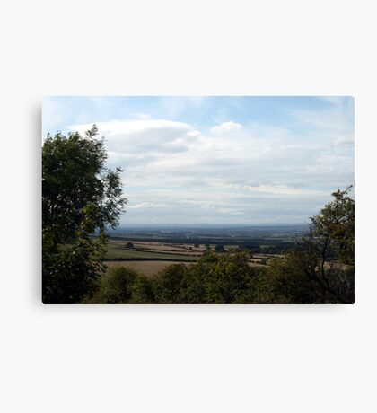 Butterwick down to York Canvas Print