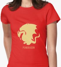 Pendragon symbol, merlin Women's Fitted T-Shirt