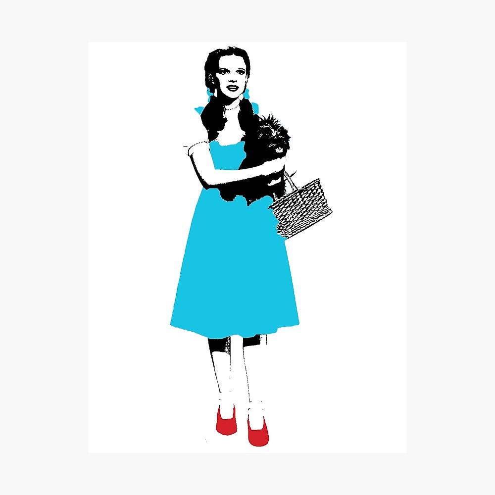 Dorothy - Zauberer von Oz Fotodruck