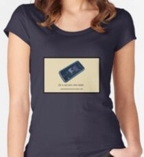 The Treachery of Portable Sound Fitted Scoop T-Shirt