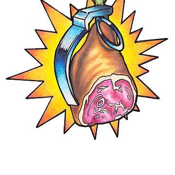 Ham Grenade by Borley