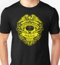 Grammar Police Funny T-Shirt & Hoodies Unisex T-Shirt