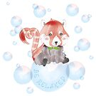 Red Panda – be relaxed von liniDesign