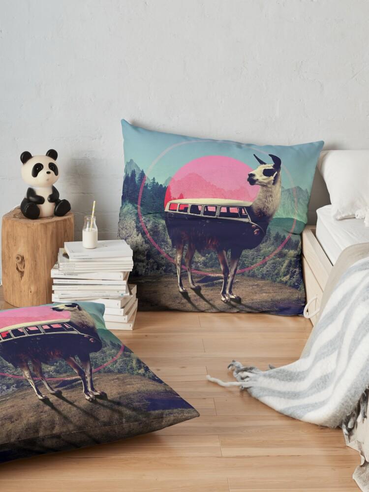 Alternate view of Llama Floor Pillow
