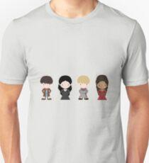 Merlin, Morgana, Arthur, Guinevere Unisex T-Shirt