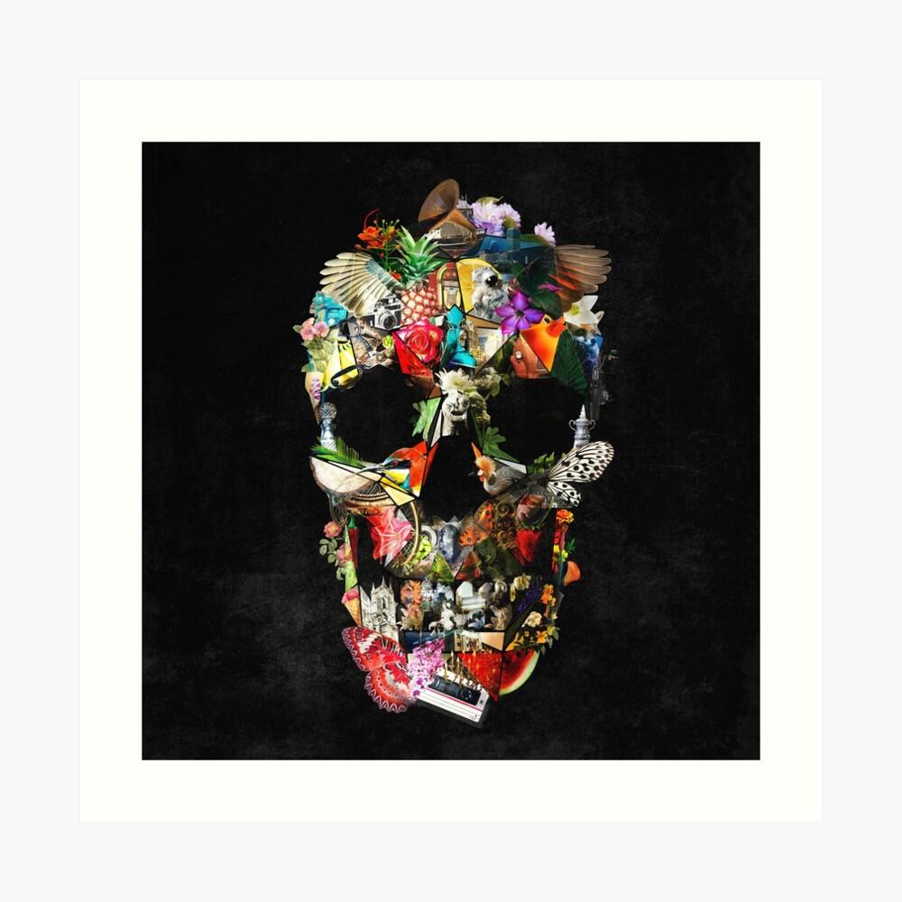 Fragile Skull 2 Art Print