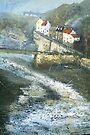 Autumn on Cowbar, Staithes by Sue Nichol