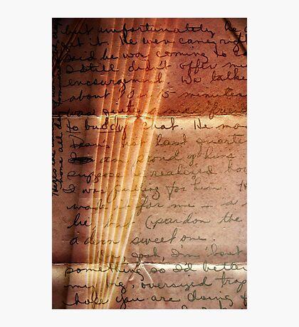Love Letter Photographic Print