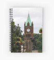 Derry Guildhall Spiral Notebook