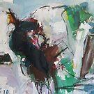 Green Cow by artman757