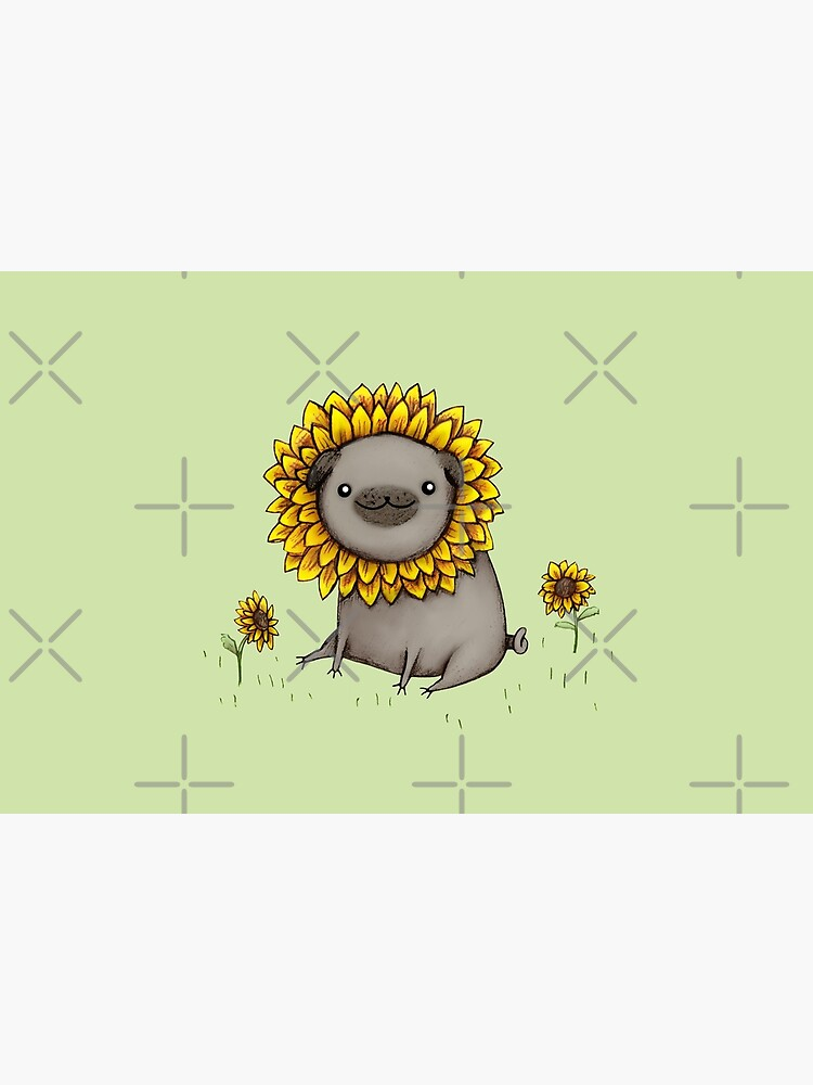 Pugflower by SophieCorrigan