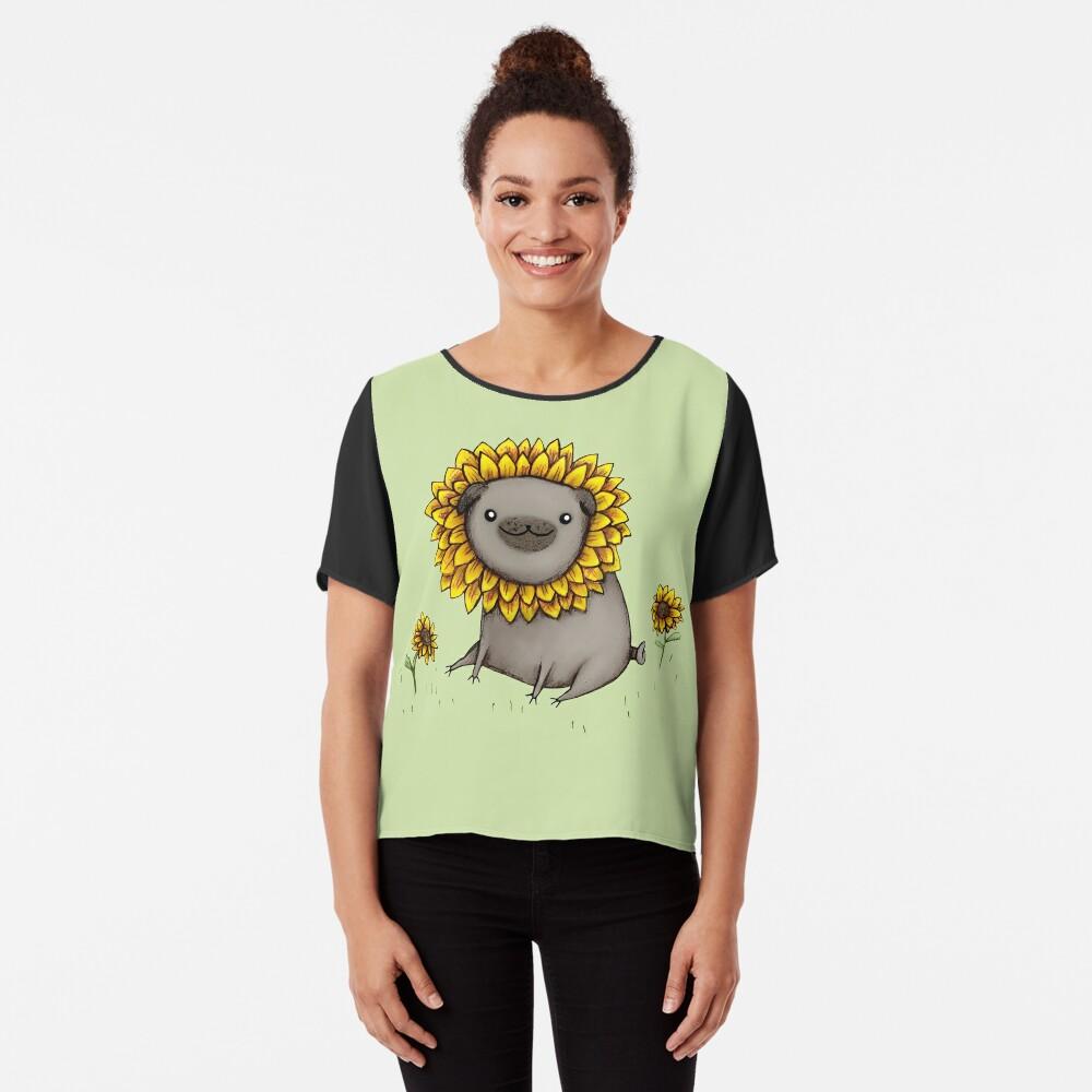 Pugflower Chiffon Top