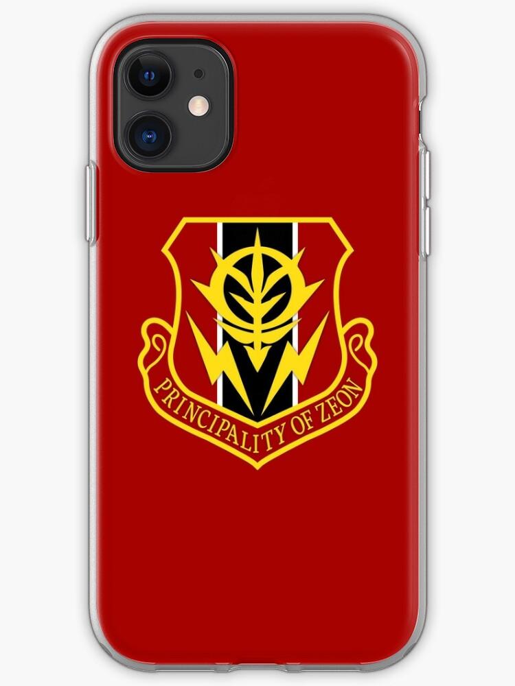 Principality of Zeon iphone case