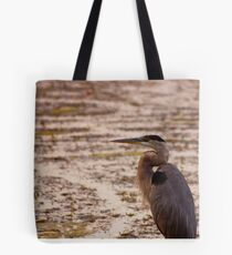 Great Blue Heron - Rideau River, Ottawa Tote Bag