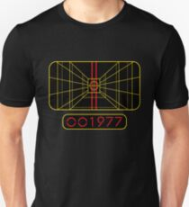 STAY ON TARGET 1977 TARGETING COMPUTER Slim Fit T-Shirt
