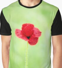 Poppy (Poppies) in Field Graphic T-Shirt