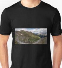 Curves of Stelvio Pass Unisex T-Shirt